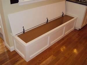 Built-in bench storage - Traditional - Kitchen - Boston