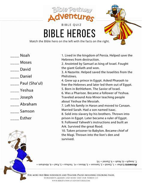 bible heroes quiz bible pathway adventures 536   Bible Heroes1 1