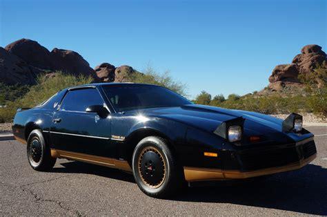 1982 Pontiac Firebird Trans Am T-TOPS RECARO EDITION BLACK ...