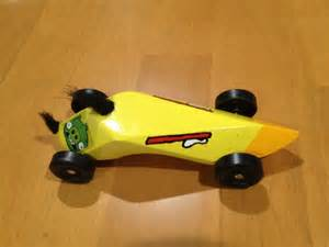Angry Birds Pinewood Derby Car