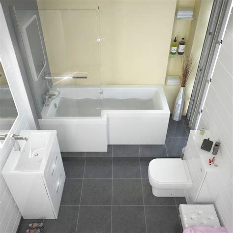 Buy Shower Bath by L Shape Shower Bath Left Handed Buy At Bathroom City