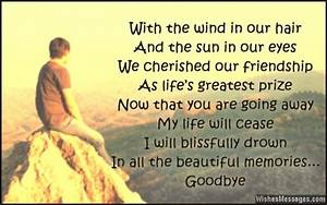 Goodbye Messages for Friends: Farewell Quotes in ...