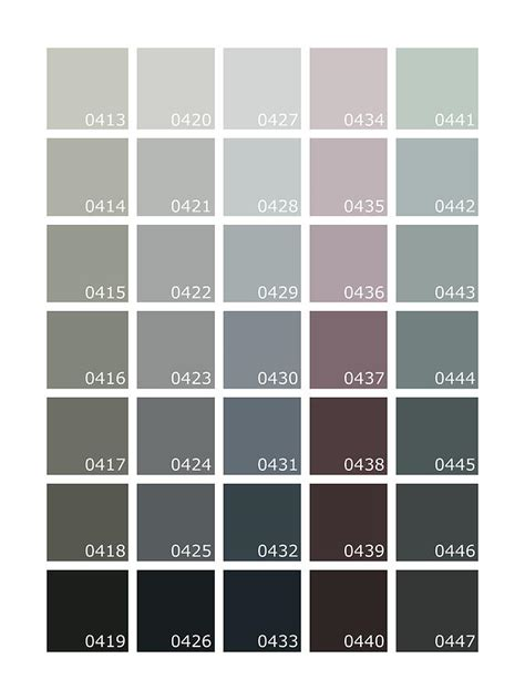 Pantone Farben Grau by Pantone Shades Of Grey Digital By Rogan