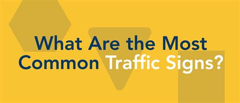 common traffic signs top driver