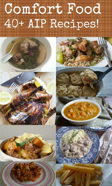comfort food list comfort food 40 aip friendly recipes gutsy by nature