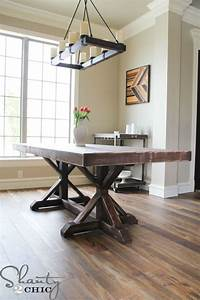 Free Country Kitchen Table Plans - WoodWorking Projects