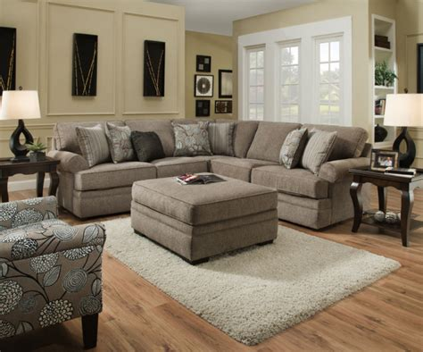 beautyrest sectional  macey pewter  bellamy slate