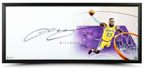 LeBron James Signed Lakers