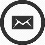 Icon Mail Circle Letter Message Vectorified Personal