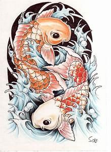 Koi Tattoo Vorlagen : pin by jeff deryck on tattoos tattoo ideen japanische tattoos koi ~ Frokenaadalensverden.com Haus und Dekorationen