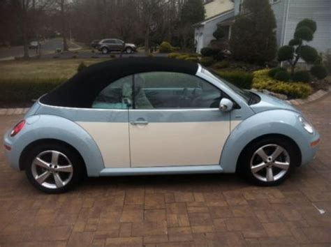 purchase   vw beetle convertible final edition
