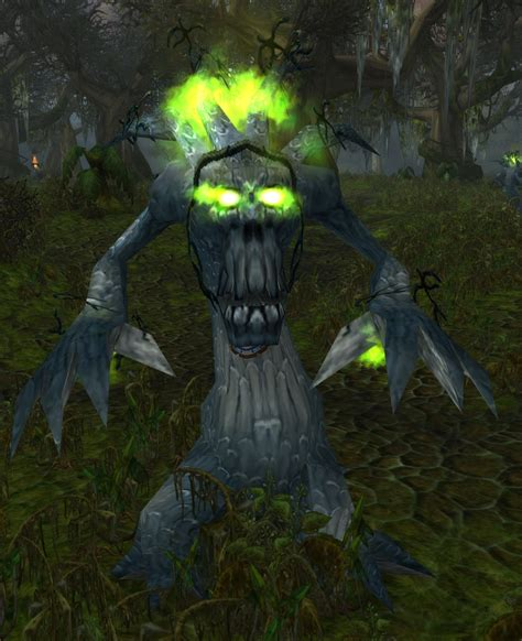 Corrupted Darkwood Treant Npc World Of Warcraft