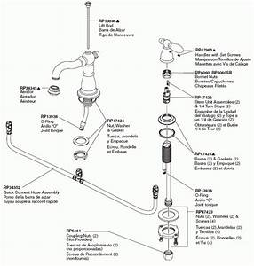 Glacier Bay Faucet Parts Diagram