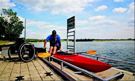Wheelchair Accessible Kayak Dock
