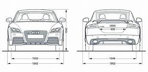 Audi Tt Rs Coupe 2010 Blueprint