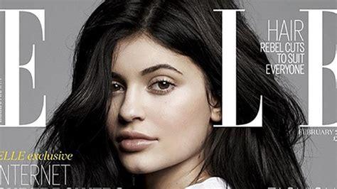 Kylie Jenner Bashes 'Friends,' Rocks Natural Look on ELLE ...