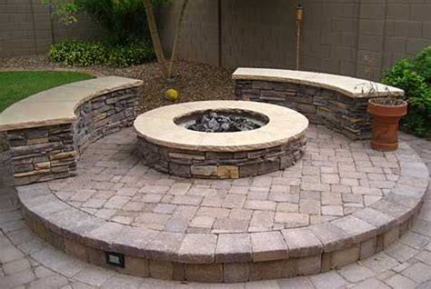 outdoor built in pits fire pits in the landscape cedarrunlandscapes com