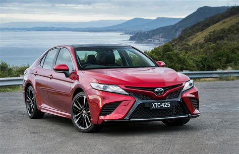 toyota camry 2018 toyota camry now on sale in australia with v6 option
