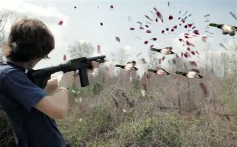 Real Life Duck Hunt Game