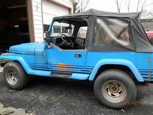 1989 Jeep Wrangler 4x4 Yj Islander 4 2l Il6  5spd Man 2
