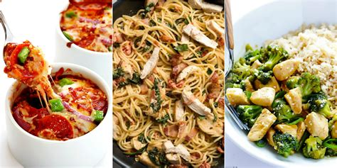 20 quick easy dinner ideas recipes for fast family
