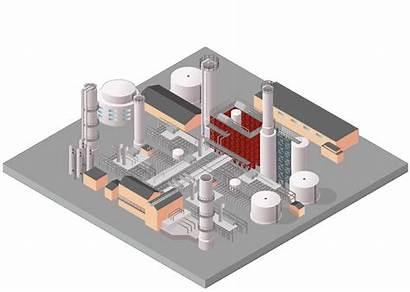 Petrochemical Aggreko Plant Refinery Refining Oil Temperature