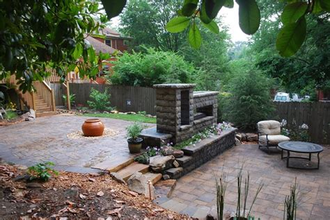 landscaped backyards pictures backyard landscaping hoschton ga photo gallery