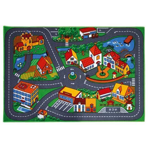 tapis de jeu pour petites voitures motor co king jouet