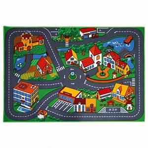 Tapis De Jeu Voiture : tapis de jeu pour petites voitures motor co king jouet ~ Dailycaller-alerts.com Idées de Décoration