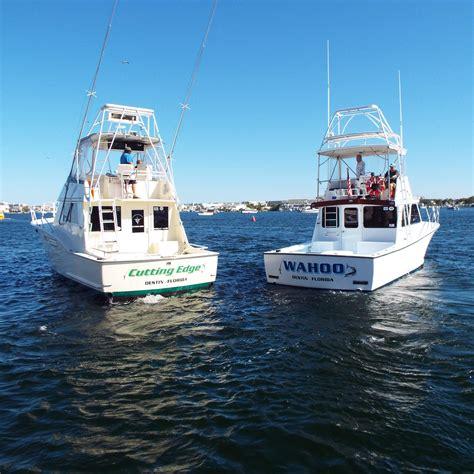 Charter Fishing Boat In Destin Fl by Cutting Edge Charters Inc Charter Boat Cutting Edge And