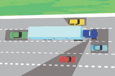 driving around in cyberabad beware motoring malaysia road safety how to drive around trucks