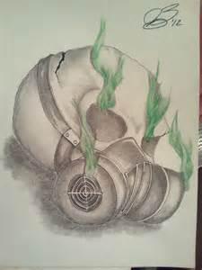 Skulls Smoking Weed Drawings