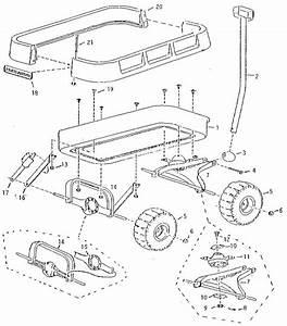 Playloader Wagon Diagram  U0026 Parts List For Model 21 Radio