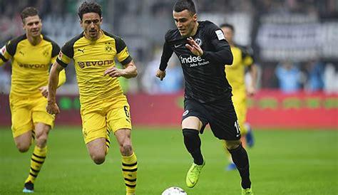 Frankfurt spielte damit zum fünften mal in folge unentschieden und verpasste den anschluss ans obere tabellendrittel, dortmund wartet nun seit zwei spielen auf einen sieg. Eintracht Frankfurt gegen Borussia Dortmund heute live ...