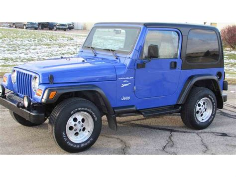 tj blue paint colors jeep