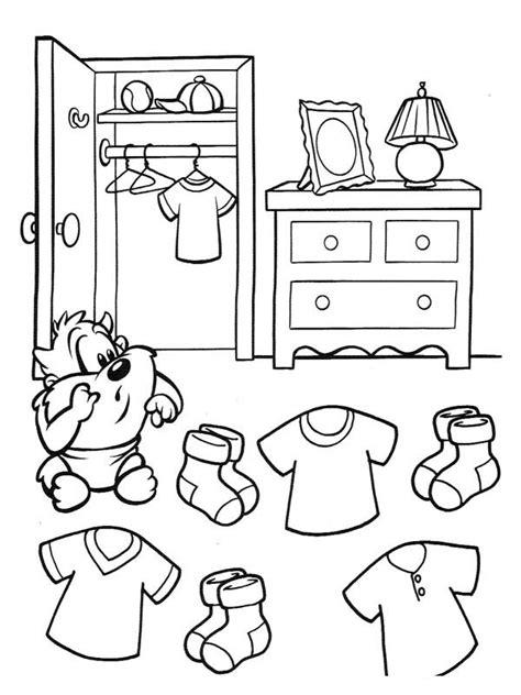 jeux de ranger sa chambre coloriage aide taz à ranger sa chambre