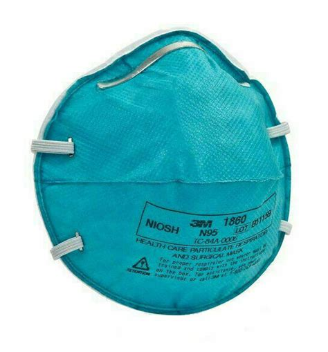 health care particulate respirator mask size