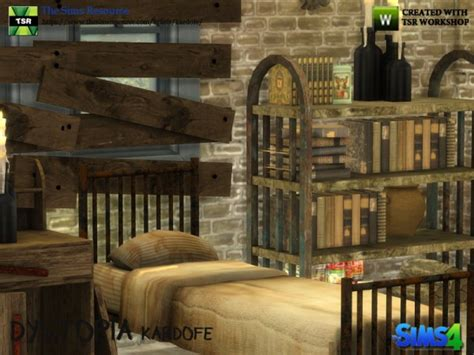 sims resource dystopia bedroom  kardofe sims