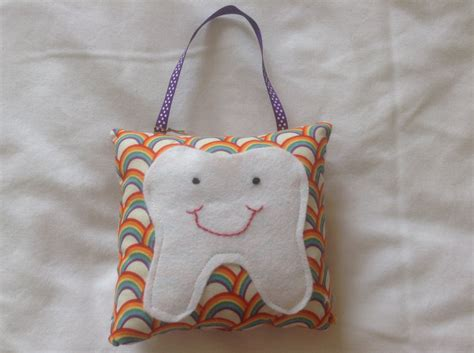 Tooth Fairy Pillow Beautiful Rainbow Pattern By