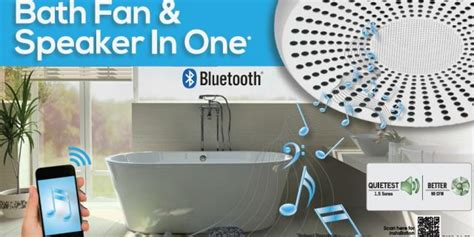 blue bathroom christmas update bluetooth fan  streams   generations  roof