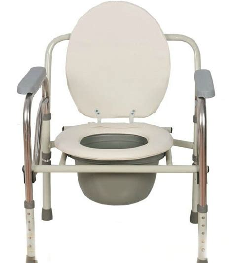 Handicap Portable Toilet Chair by New Folding Handicapped Mobile Bath Chairs Stainless Steel