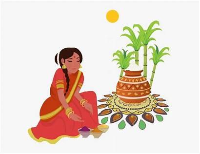 Festival Pongal Clipart Happy Story 4k Whatsapp