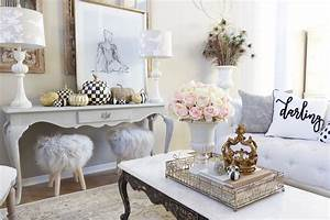 French, Glam, Living, Room, Reveal, With, New, Wood, Floors