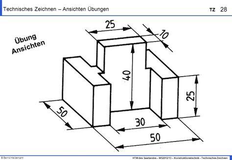technische zeichnung ansichten macht unter der haube technisches zeichnen ansichten zuordnen 252 bung