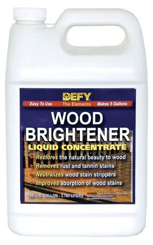 deck brightener oxalic acid wood preparation and maintenance products