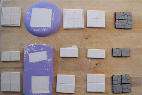 3d Dungeon Tile Molds by Home Made Dungeon Tiles Second Third Attempts The
