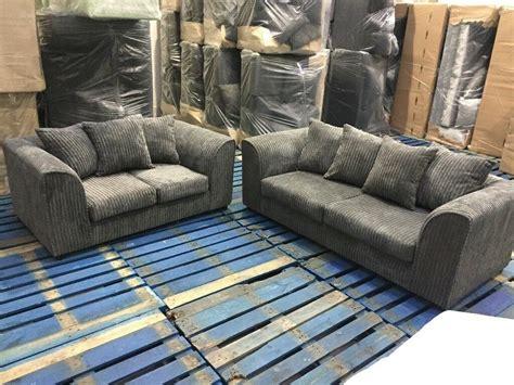 new settee brand new 3 seater and 2 seater sofa settee jumbo