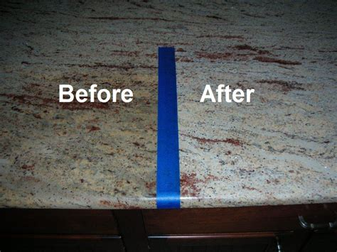 how to remove stains and discoloration from granite