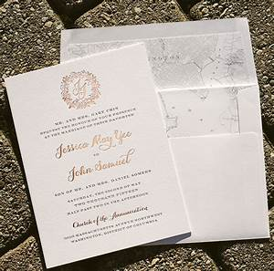 rose gold wedding invitations with floral wreath bella With rose gold embossed wedding invitations