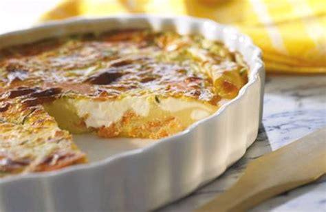 recette quiche sans p 226 te au saumon et philadelphia 750g